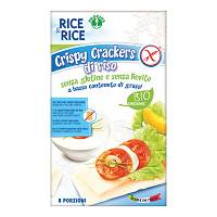 CRISPY CRACKERS RISO 100% 200G