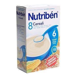 NUTRIBEN 8 CEREALI 300G